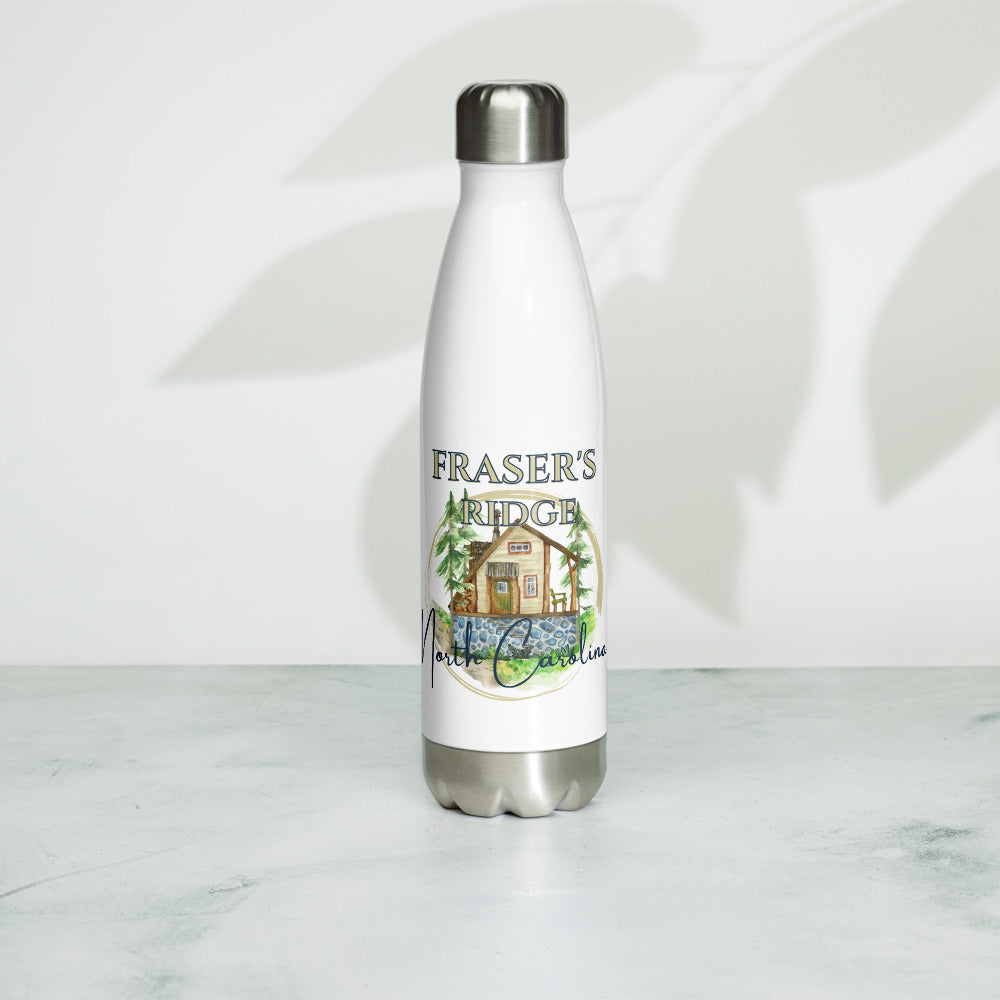 Fraser's Ridge, NC Stainless Steel Water Bottle
