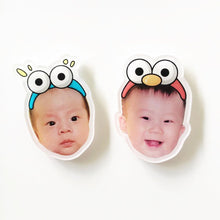 Load image into Gallery viewer, Custom Face Magnet, Custom Pet Magnet Personalized Fridge Magnet Big Head