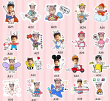 Load image into Gallery viewer, Please browse the Cartoon Templates Design from this link.