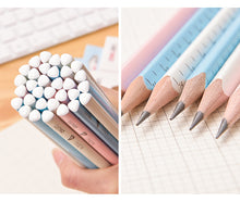 Load image into Gallery viewer, 12 Personalised Name 2B Pencils with FREE Ruler and Pencil Case