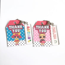 Load image into Gallery viewer, Party Favors Package | Children Birthday Party Favors Singapore | Customized Keychains