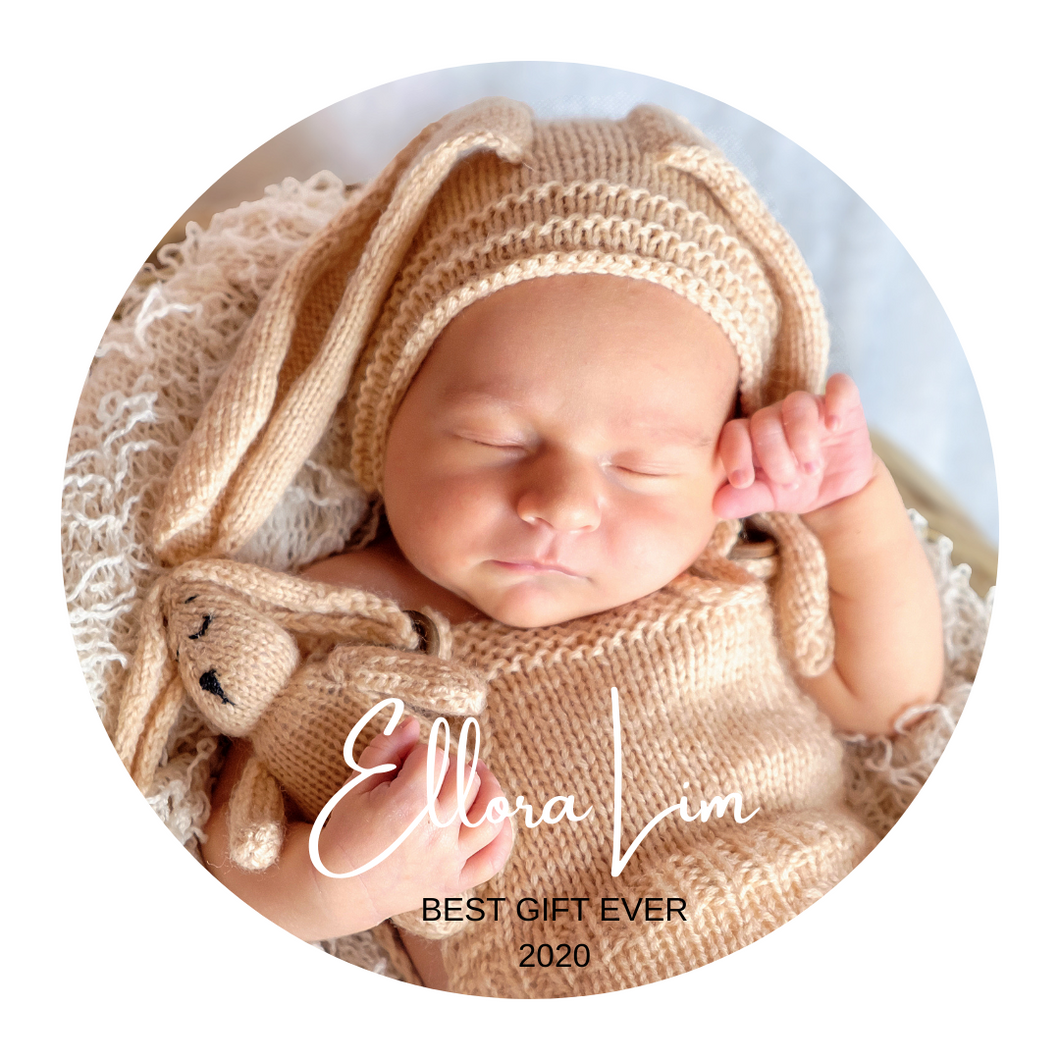Best Gift Ever My First Born In 2021 Personalized Photo Magnet Keychain