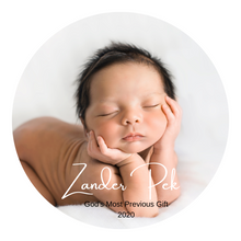 Load image into Gallery viewer, Best Gift Ever My First Born In 2021 Personalized Photo Magnet Keychain