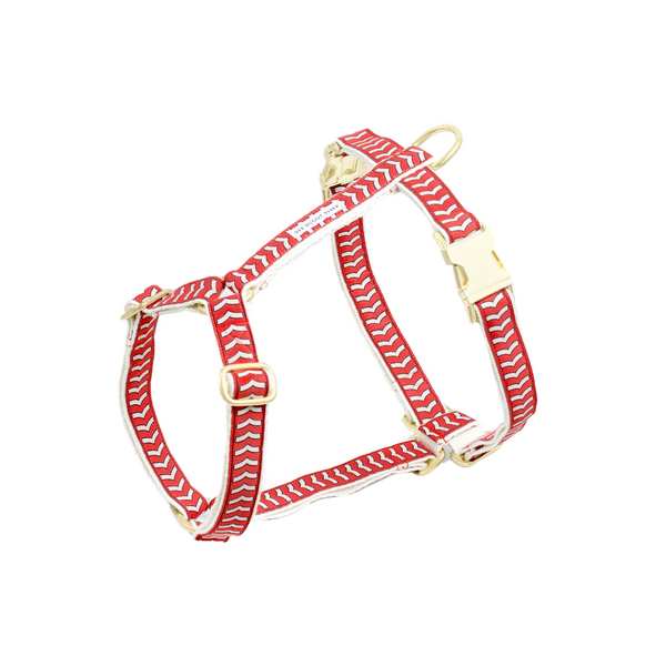 Chef L'Bark Dog Harness - Fire Red