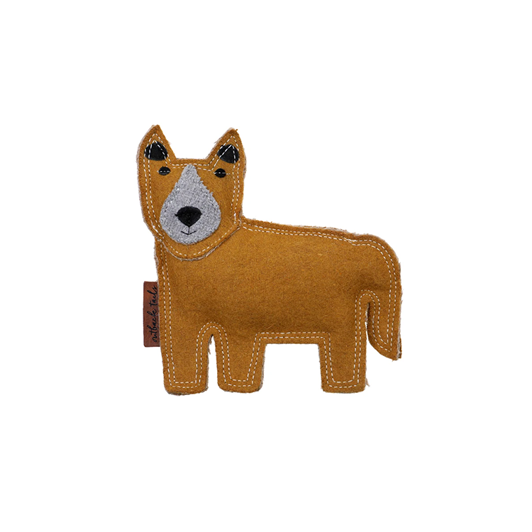 Darren The Dingo Felt Dog Toy