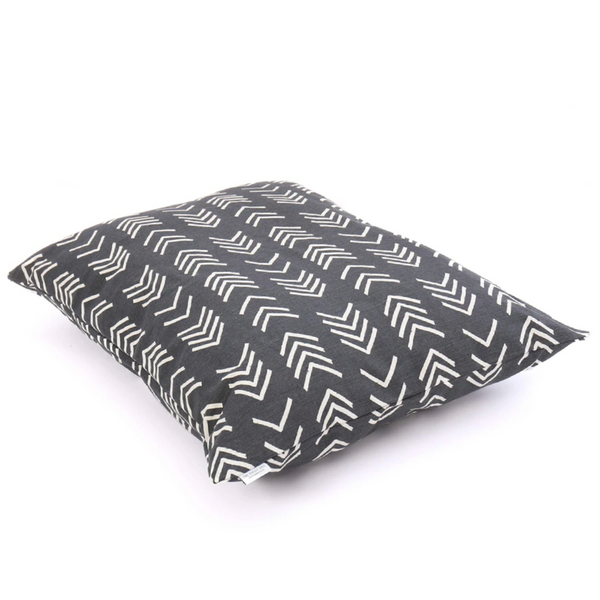 MODERN MUD CLOTH BLACK BED COVER