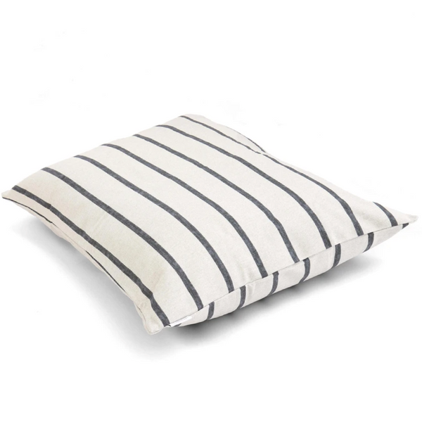 MODERN STRIPE CHARCOAL BED COVER