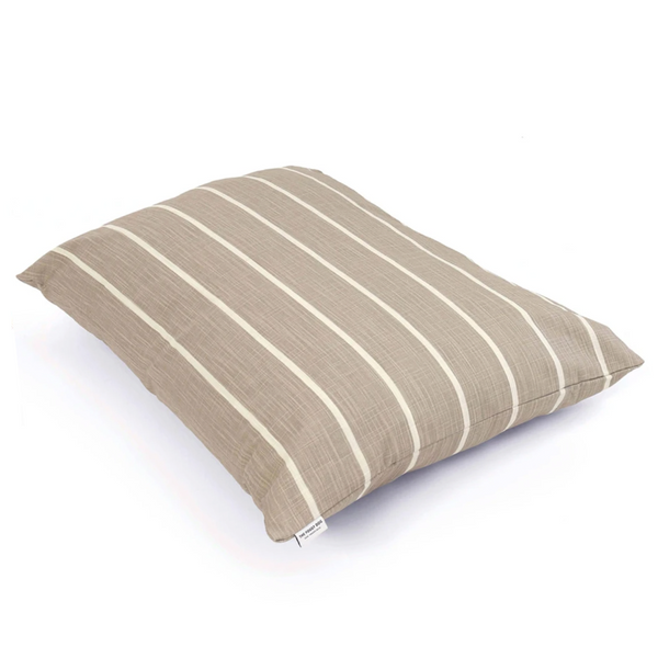 MODERN STRIPE WARM STONE BED COVER