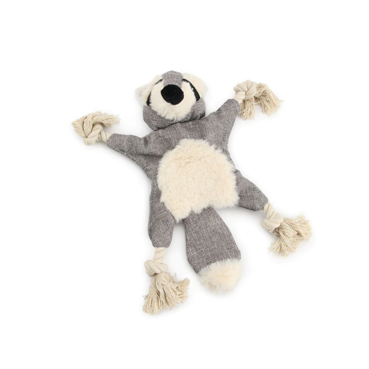RUDI RACCOON CRINKLE TOY