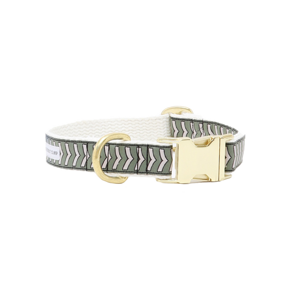 Chef L'Bark Dog Collar - Sage