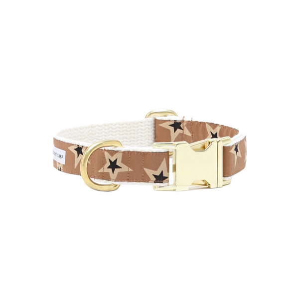 Starstruck Dog Collar - Tawny