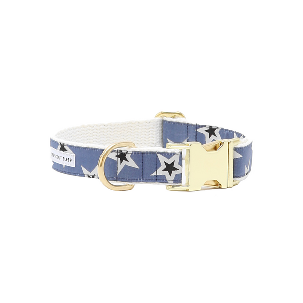 Starstruck Dog Collar - Woad