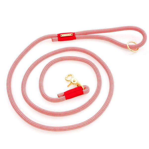STRAWBERRY CLIMBING ROPE DOG LEAD