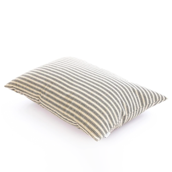 TICKING STRIPE BED COVER