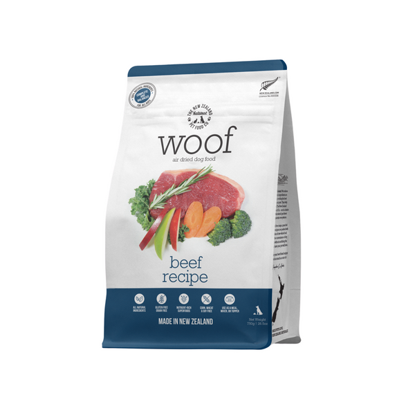 Woof Air Dried Dog Food - Beef 750g