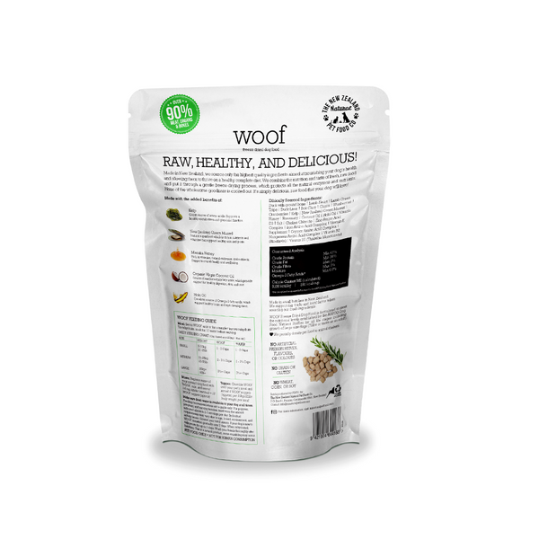 Woof Freeze Dried Dog Food - Duck 1KG