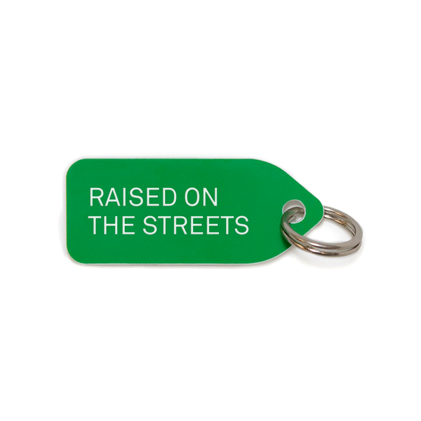 RAISED ON THE STREETS COLLAR CHARM