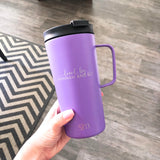 "18oz Mug ""Glam-Ma Bear"" - Lilac"