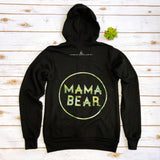 "PROMO PRICE Zip Up Fleece ""Mama Bear"" Camo Ink Design"