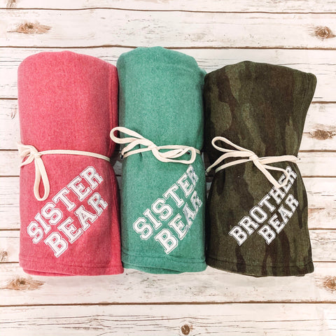 Youth Fleece Throws