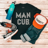 "Checkered ""Man Cub"" Bodysuit and Tees"