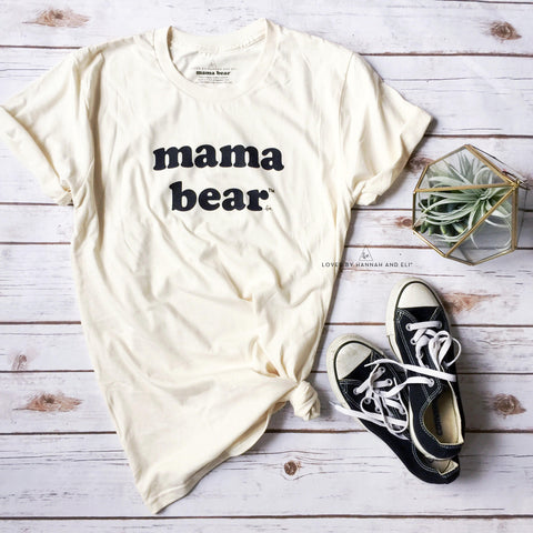 "Organic Retro ""Mama Bear"" Cream"