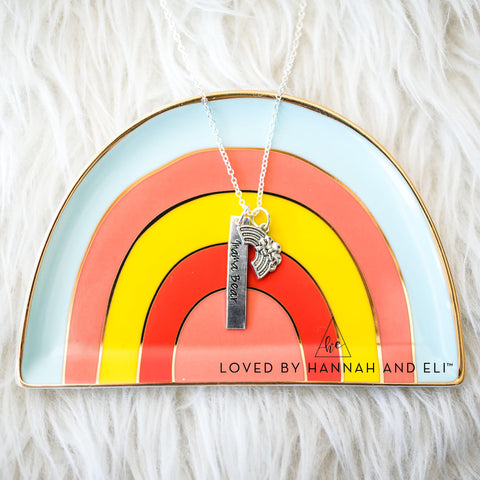 Rainbow Necklace - The Silver Loft Collab