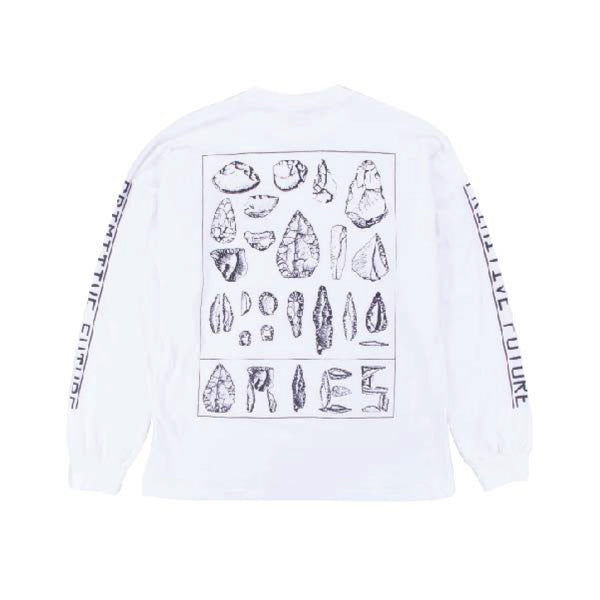 Primitive Future Longsleeve - White