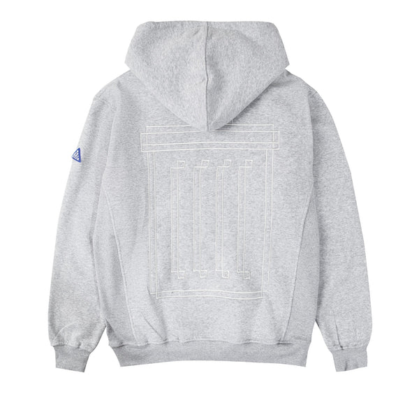 Graphic Hoodie - Grey
