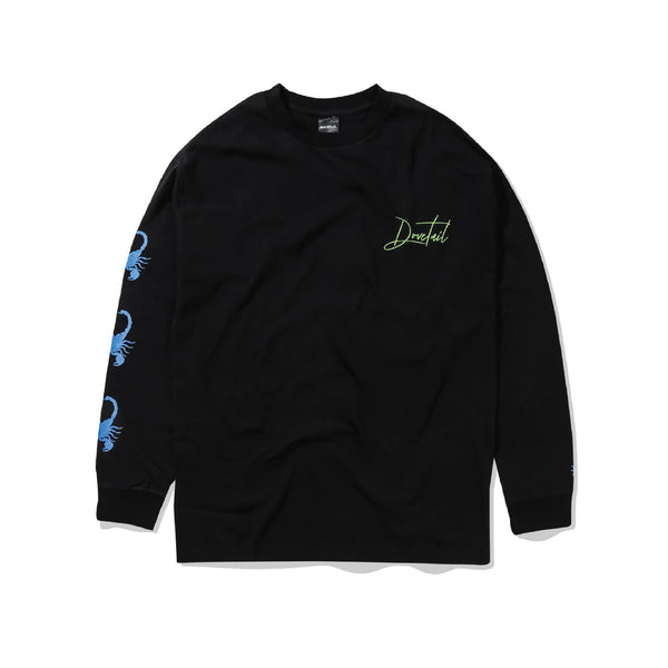 Faces Longsleeve - Black