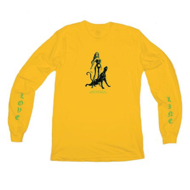 Love Line Longsleeve - Gold