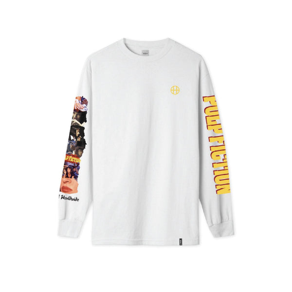 Collage Longsleeve - White
