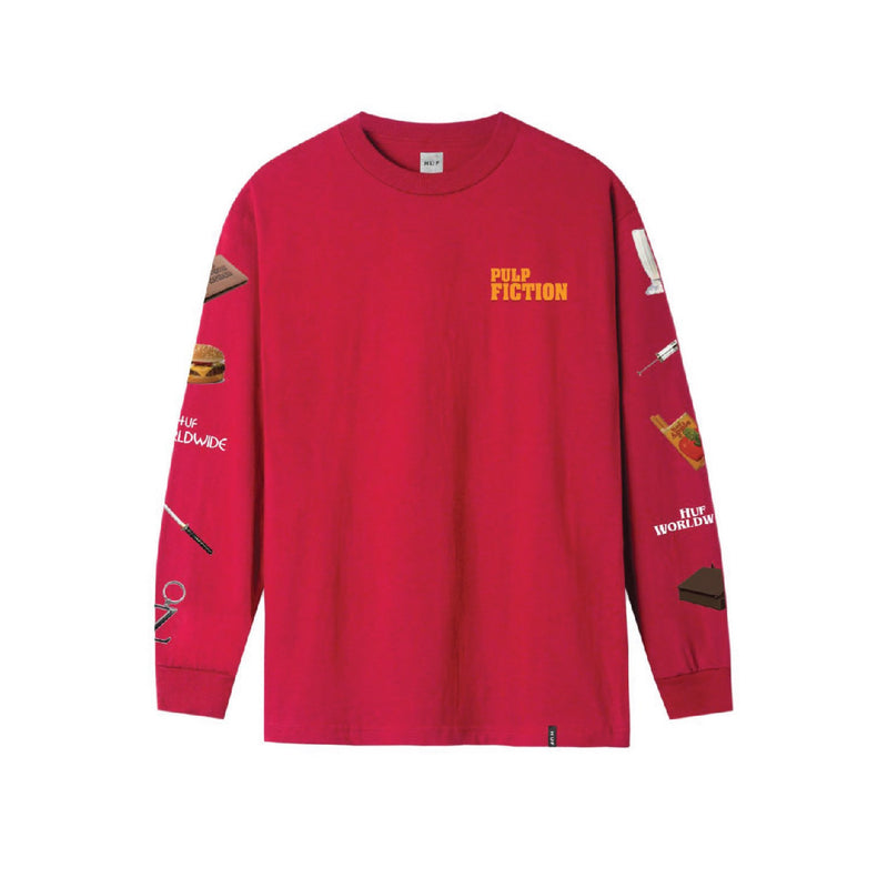 Pulp Props Longsleeve - Red