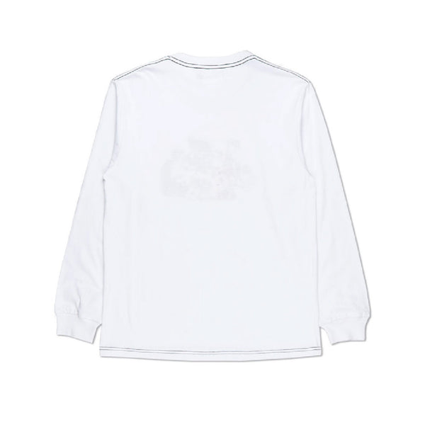 Records Longsleeve - White
