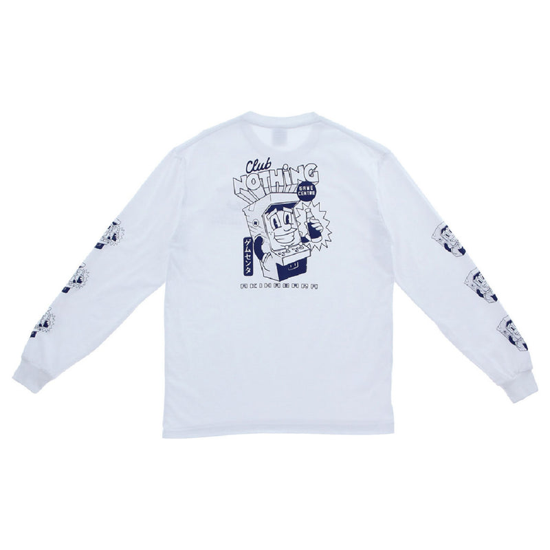 Club Nothing Longsleeve - White