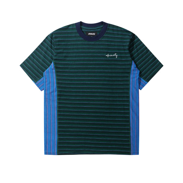 Striped - Green/Blue
