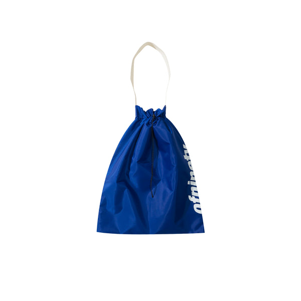 Ripstop Nylon Bag - Blue/Brown