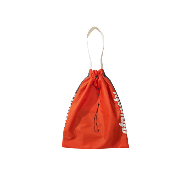 Ripstop Nylon Bag - Orange/Grey