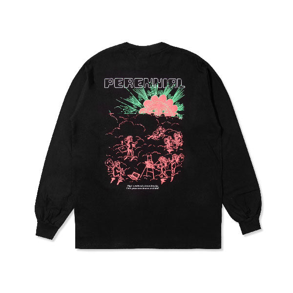 Above The Sky Longsleeve- Black