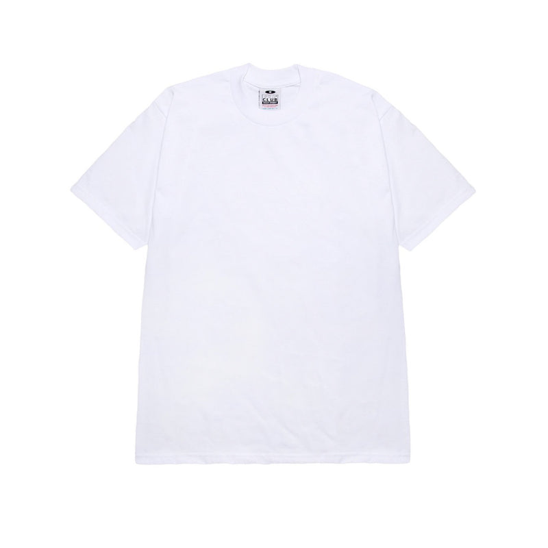 Heavyweight Cotton Short Sleeve - White