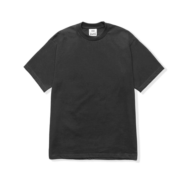Heavyweight Cotton Short Sleeve - Charcoal
