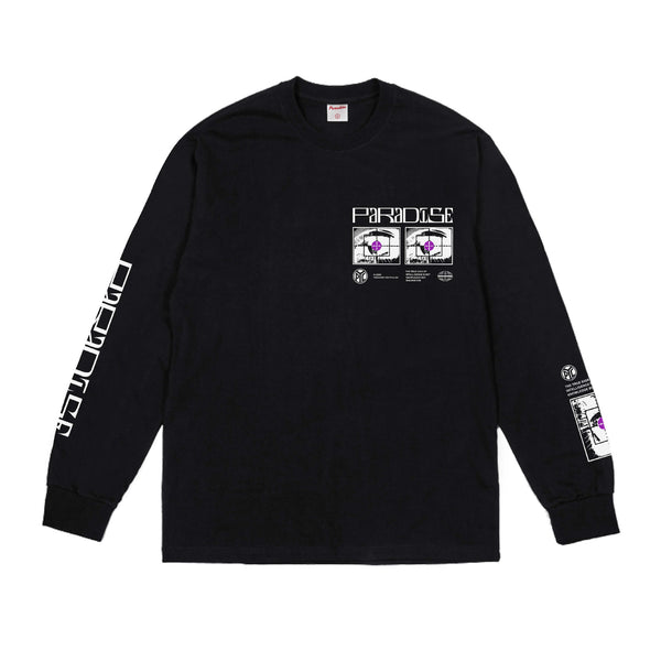 Seeing Longsleeve - Black