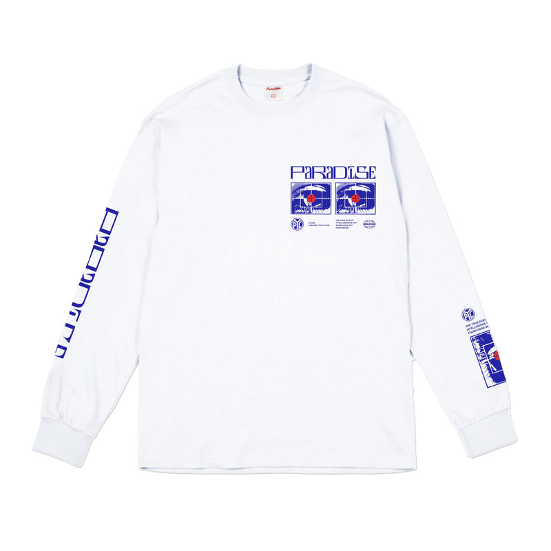 Seeing Longsleeve - White