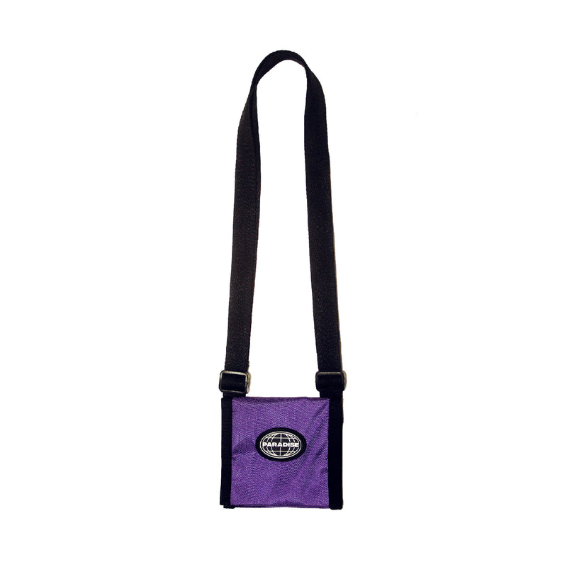 Paradise Shoulder Mini Wallet - Purple