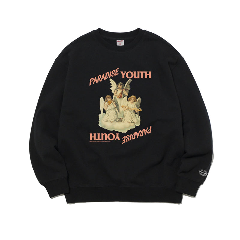 Angels Crewneck - Black