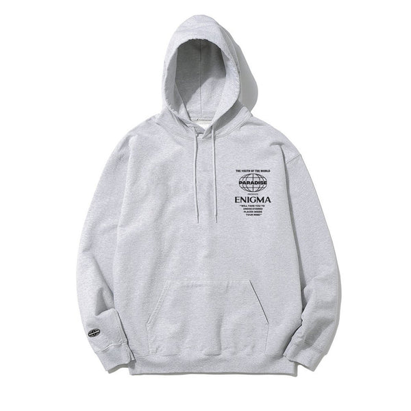 Undicovered Hoodie - Misty Grey