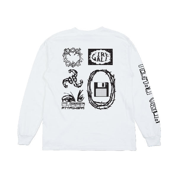 Virus Longsleeve - White