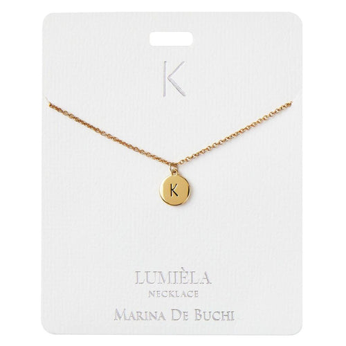 Lumiela Initial Necklace