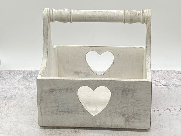 White Heart Trug