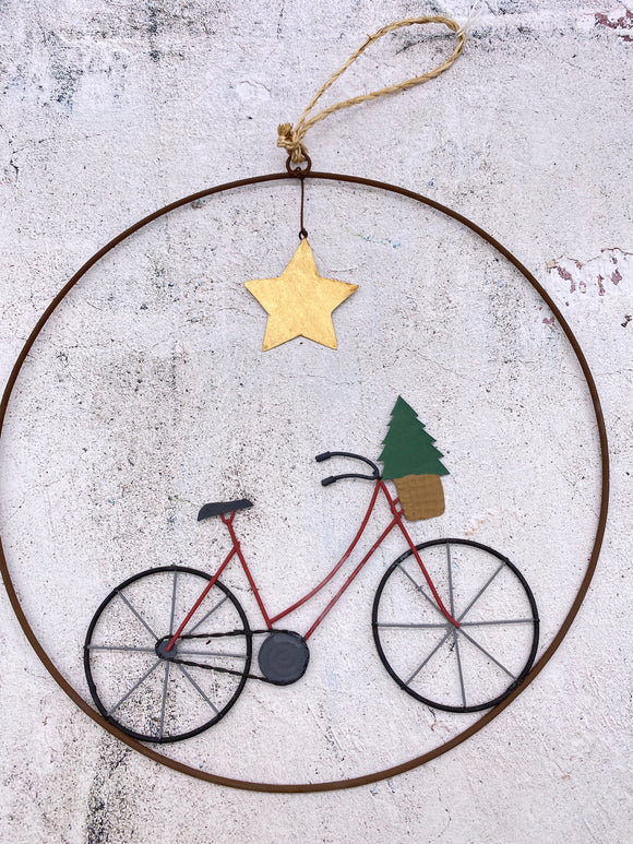 Metal Christmas Wall Hanger Decoration